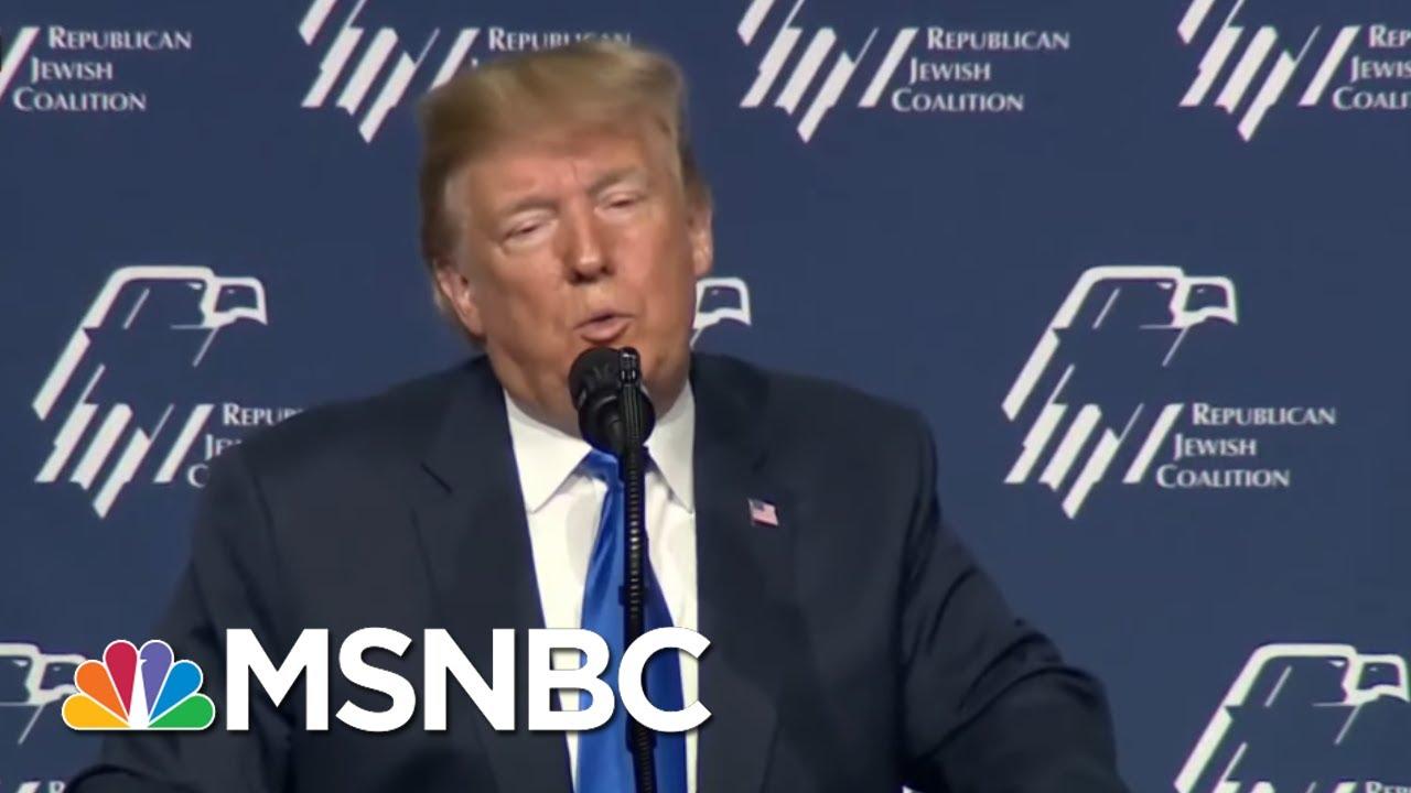 President-Donald-Trump-Pushes-Anti-Semitic-Trope-Again