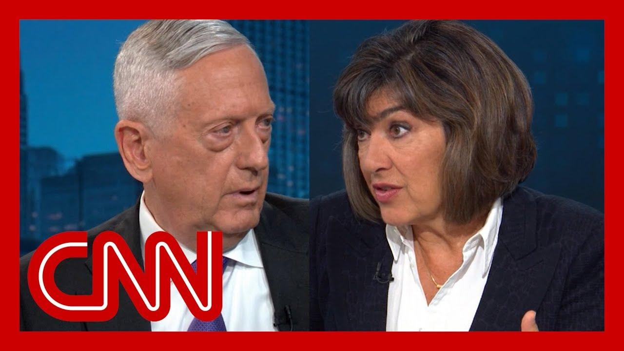 Amanpour-presses-Mattis-Why-didnt-you-resign-when-Trump-said-this
