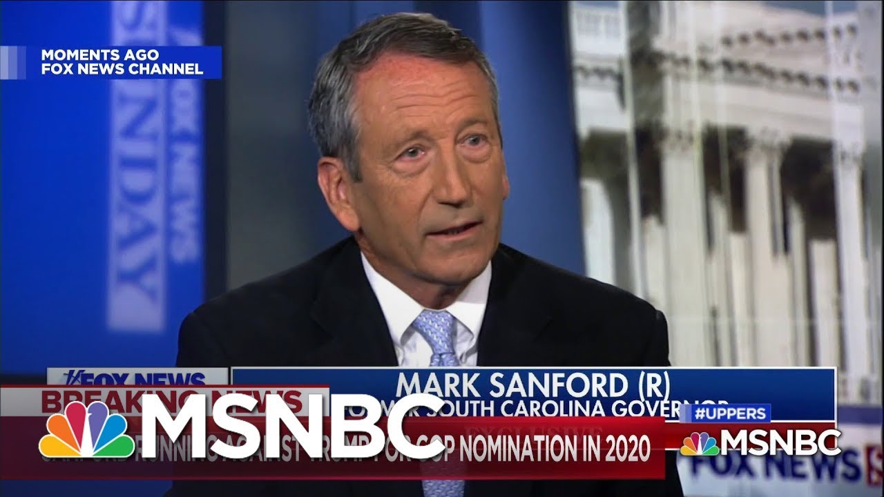 Former-Rep.-Mark-Sanford-Announces-2020-GOP-Primary-Challenge-To-Trump
