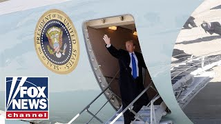 Trump-arrives-in-Los-Angeles-aboard-Air-Force-One