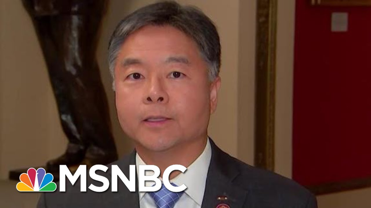 Ted-Lieu-Calls-Bill-Taylors-Testimony-Damning-For-President-Donald-Trump