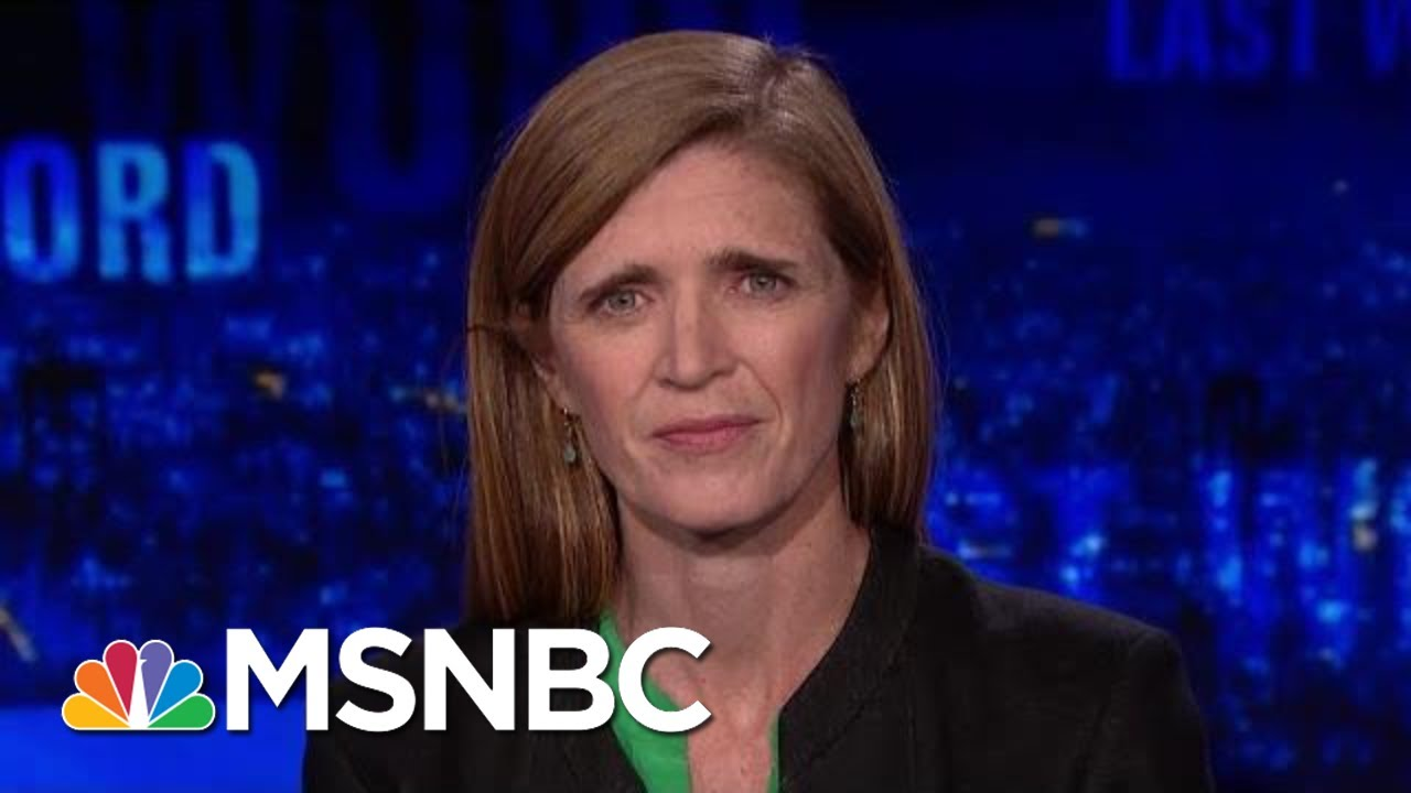 Samantha-Power-On-President-Donald-Trump-Russia-And-Bill-Taylor