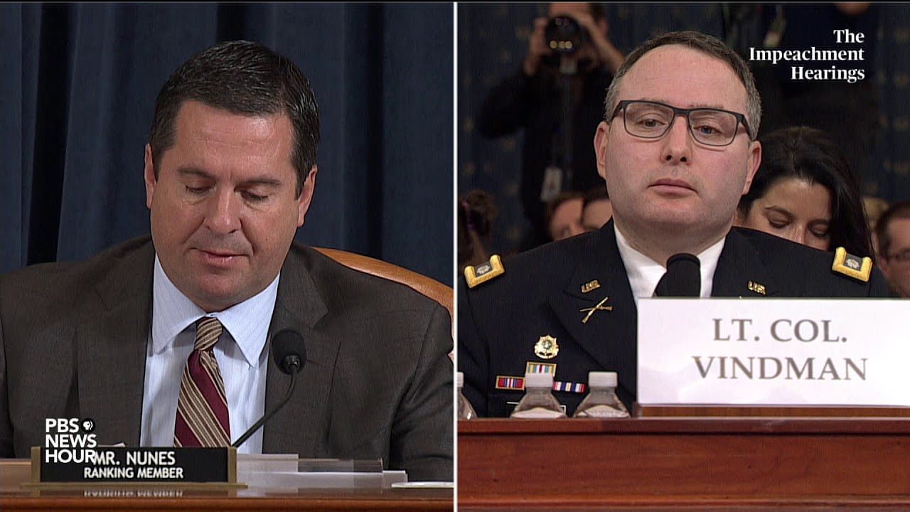 WATCH-Nunes-full-questioning-of-Vindman-and-Williams
