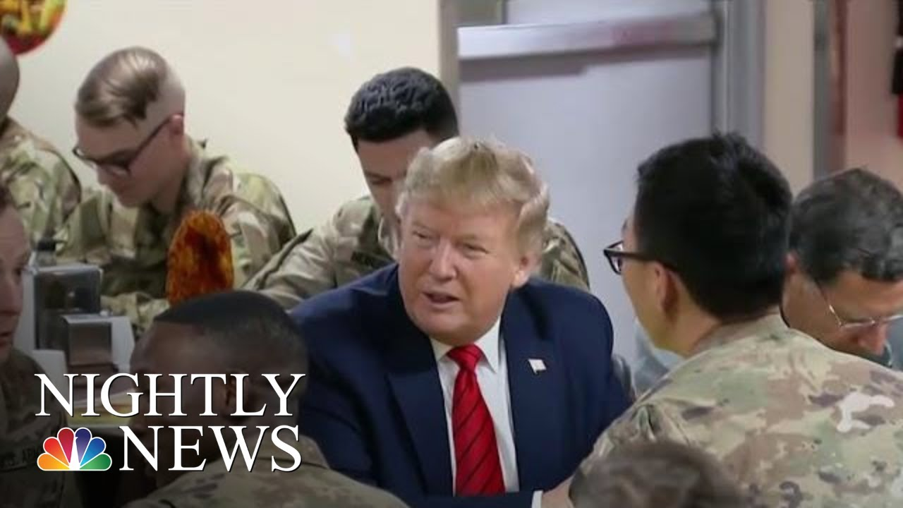 Trump-Surprises-Troops-In-Afghanistan-On-Thanksgiving