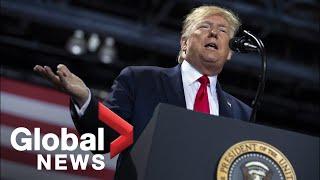 U.S.-President-Trump-holds-rally-in-Michigan-amid-impeachment