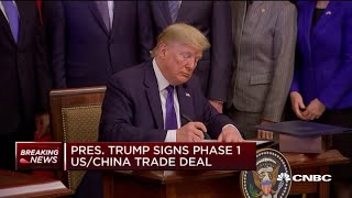 President-Trump-signs-phase-one-of-US-China-trade-deal