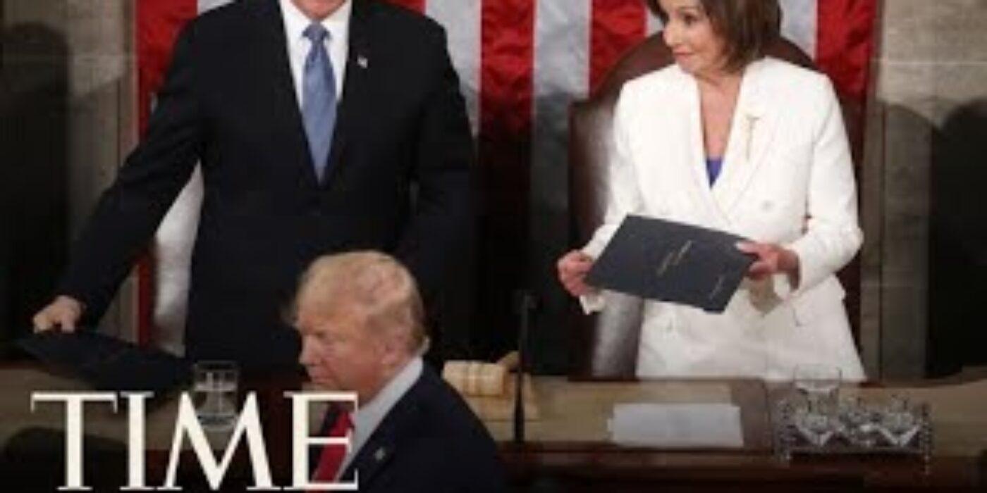 State-Of-The-Union-Donald-Trump-Skips-Nancy-Pelosis-Handshake