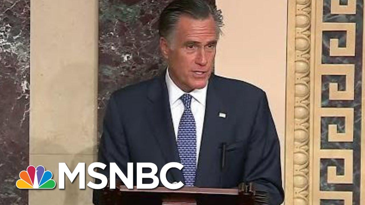 Mitt-Romney-Breaks-With-GOP-Will-Vote-To-Convict-President-Donald-Trump
