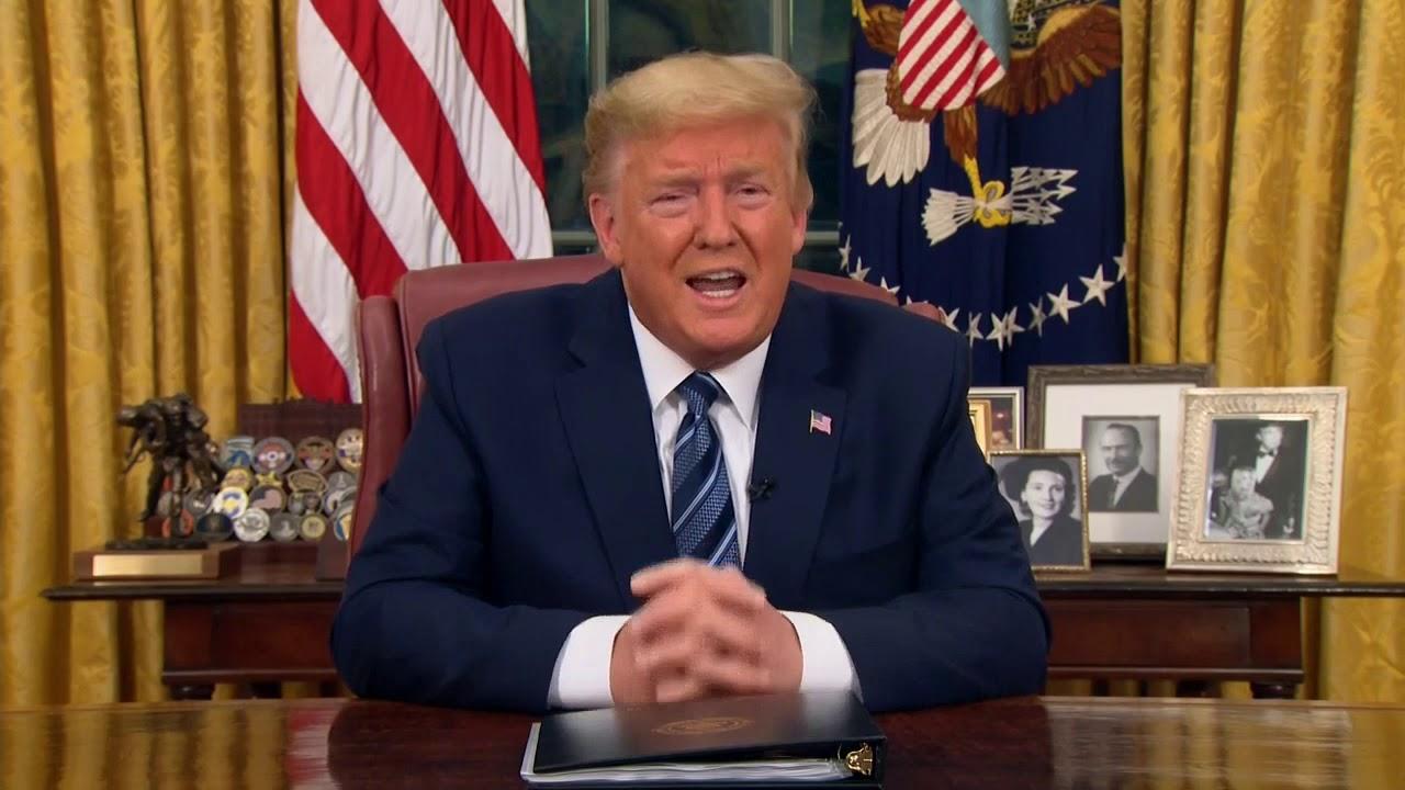 FULL-SPEECH-President-Trump-address-the-nation-on-coronavirus