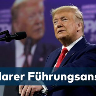 PERSONENKULT-Ex-US-Prasident-Trump-halt-erste-Rede-seit-Ende-seiner-Amtszeit-