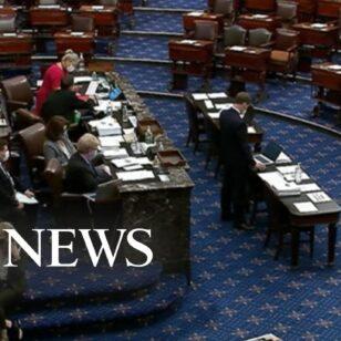 Senate-voting-on-amendments-to-President-Bidens-pandemic-relief-plan