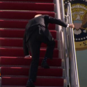 President-Joe-Biden-Doing-Fine-After-He-Tripped-Walking-Up-To-Air-Force-One-TO