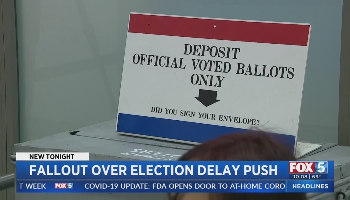 County-Registrar-Of-Voters-Reacts-To-Trumps-Suggestion-To-Delay-Election
