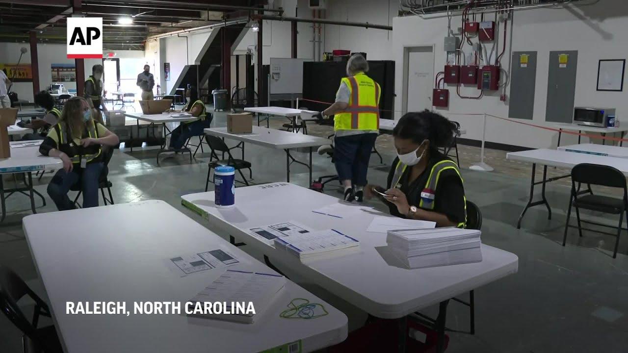 North-Carolina-prepares-to-mail-absentee-ballots